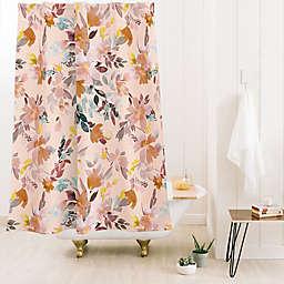 Deny Designs Ninola Design Summer Moroccan 71-Inch x 74-Inch Shower Curtain