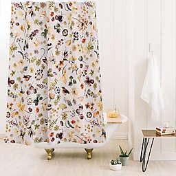 Deny Designs Ninola Design Wild Countryside 71-Inch x 74-Inch Shower Curtain