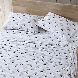 Eddie Bauer® Dog Friends Cotton Flannel Queen Sheet Set