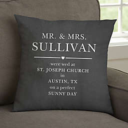 Moody Chic Personalized Wedding 14