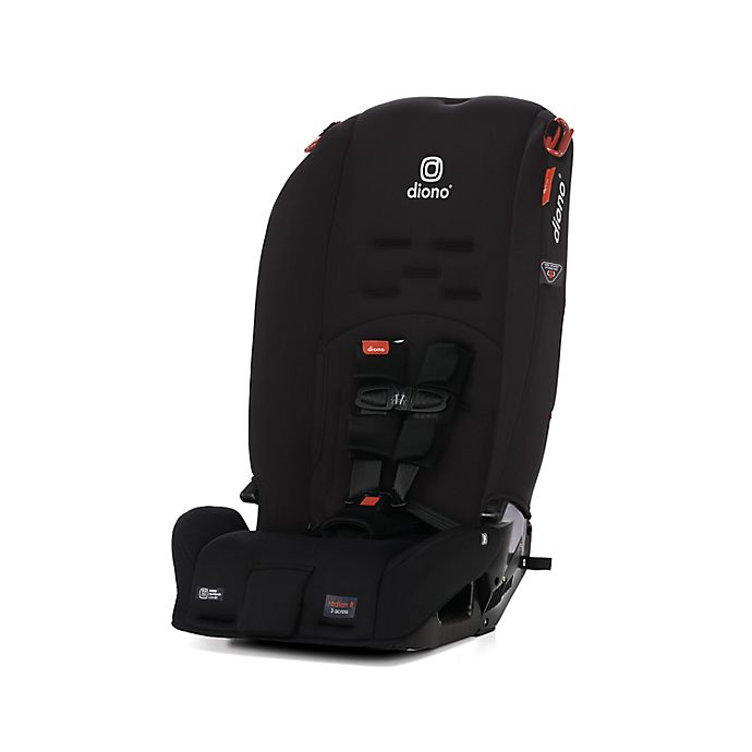 Alternate image 1 for Diono™ Radian® 3R All-in-One Convertible Car Seat in Black Jet