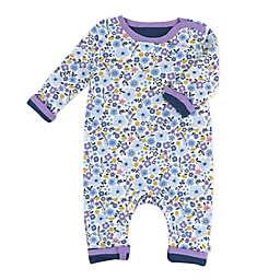 The Honest Company® Floral Reversible Organic Cotton Coverall in Purple