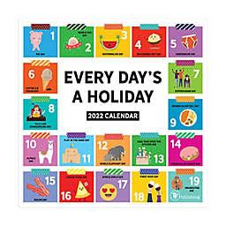 TF Publishing Every Day's A Holiday 2022 Mini Wall Calendar