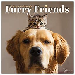 TF Publishing Furry Friends 2022 Wall Calendar