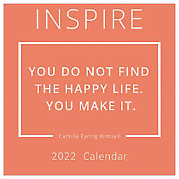 TF Publishing Inspire 2022 Wall Calendar