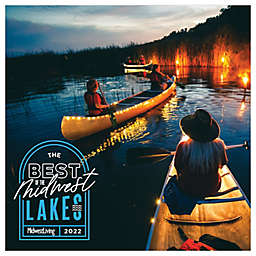 TF Publishing Midwest Living: Lakes 2022 Monthly Wall Calendar