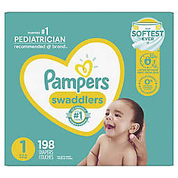 Pampers® Swaddlers™ 198-Count Size 1 Pack Diapers