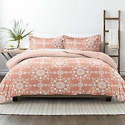 Home Collection Daisy Medallion 3-Piece Reversible Comforter Set