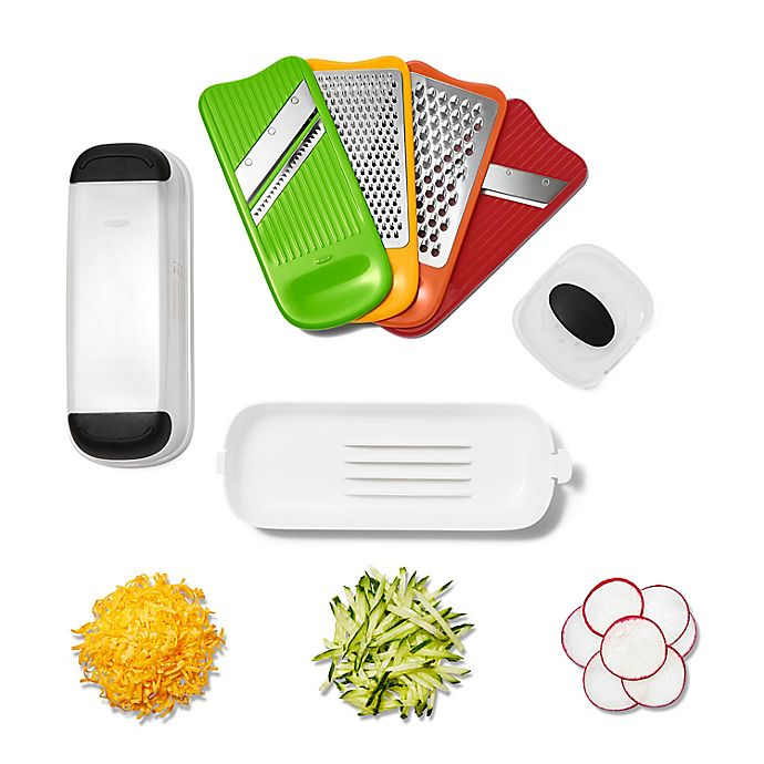 Alternate image 1 for OXO Good Grips® Complete 7-Piece Grate and Slice Set