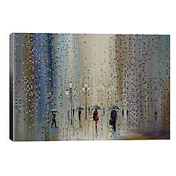 iCanvas Under a Rainy Sky 26-Inch x 18-Inch Canvas Wall Art