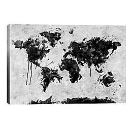 iCanvas Wild World 12-Inch x 8-Inch Canvas Wall Art