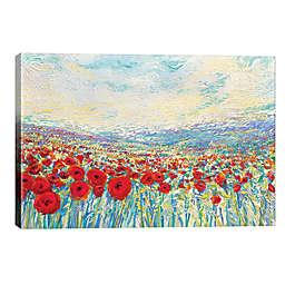 iCanvas Iris Scott Poppies of Oz 18-Inch x 26-Inch Wrapped Canvas Wall Art