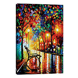 iCanvas Leonid Afremov Lonliness of Autumn 18-Inch x 12-Inch Wrapped Canvas Wall Art