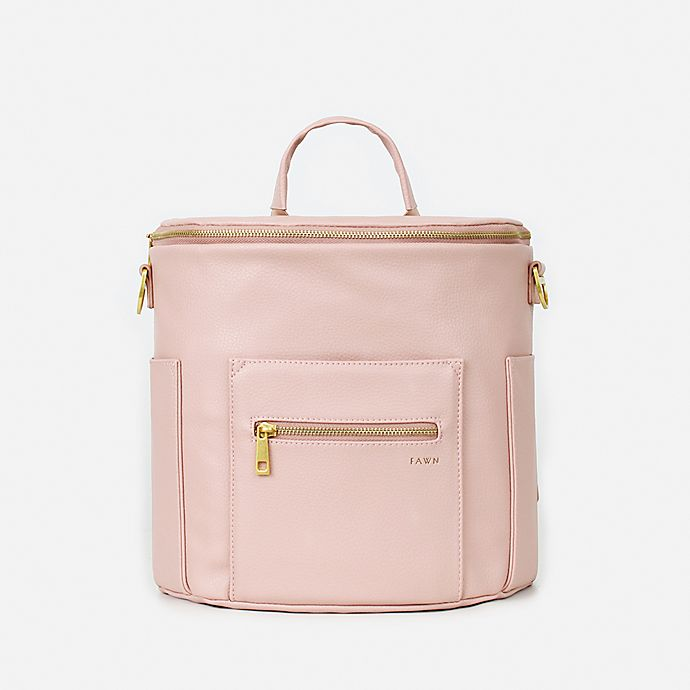 Alternate image 1 for Fawn Design The Mini Diaper Backpack in Blush