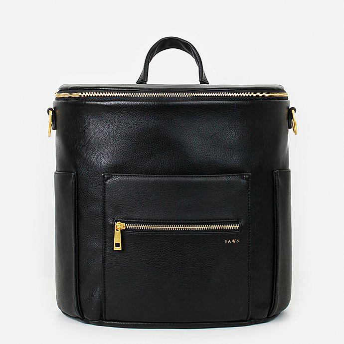Alternate image 1 for Fawn Design The Original Diaper Bag in Black