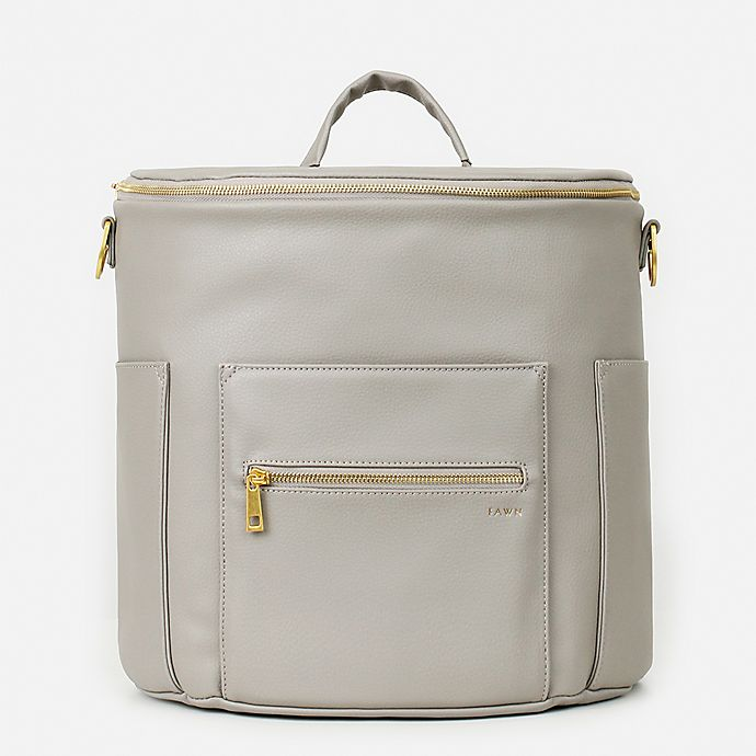 Alternate image 1 for Fawn Design The Original Diaper Bag in Grey