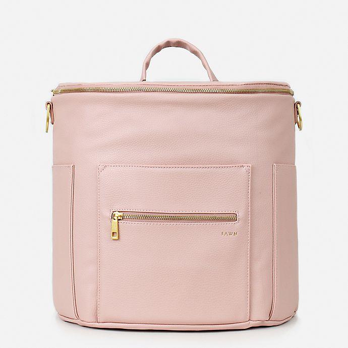 Alternate image 1 for Fawn Design The Original Diaper Bag in Blush