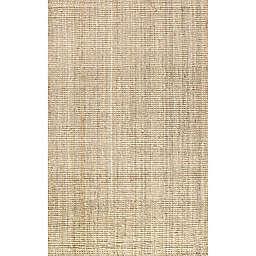 "JONATHAN Y Natural Fiber 7'8"" X 10' Indoor Area Rug in Ivory"