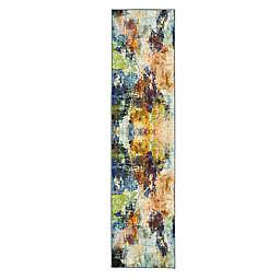 Mohawk® Home Prismatic Decollage 2' x 8' Multicolor Runner