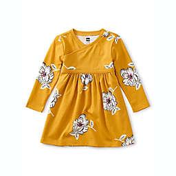 Tea Collection Wrap Neck Dress