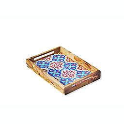 Kamsah Wooden Serving Platter in Alhambra