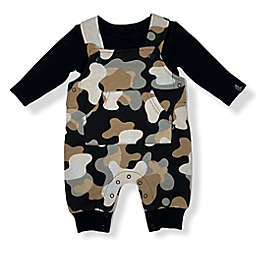 Mini Heroes™ Size 12M 2-Piece Overall Set in Camo