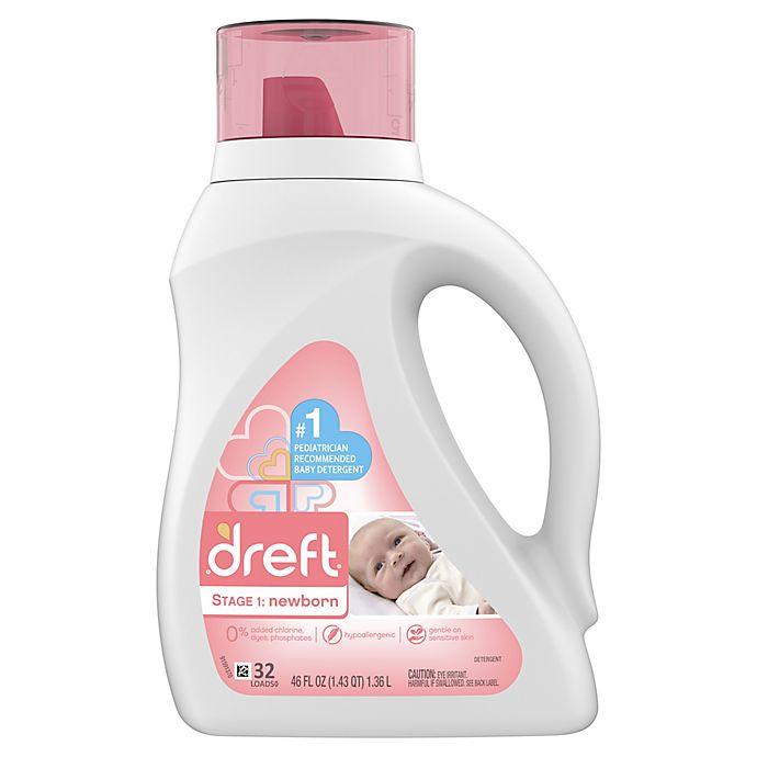 Alternate image 1 for Dreft High Efficiency Liquid Detergent in 50-Ounces (32 Loads)