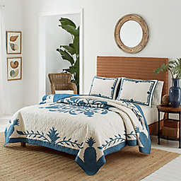 Tommy Bahama® Aloha Pineapple Quilt in Blue