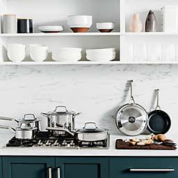 Ninja™ Foodi™ NeverStick™ Nonstick Stainless Steel 10-Piece Cookware Set