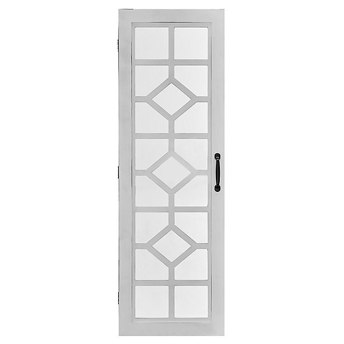 Alternate image 1 for FirsTime Eloise Jewelry Armoire in White