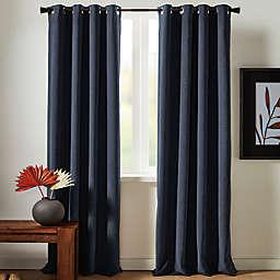 Studio 3B™ Chenille Grommet 100% Black Out Window Curtain Panel (Single)