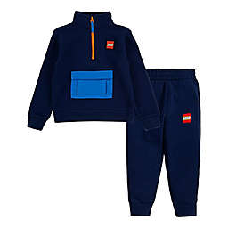 LEGO® 2-Piece Half-Zip Pullover Top and Jogger Pant Set