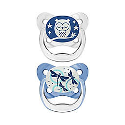 Dr. Brown's® PreVent® Stage 1 2-Pack Glow in the Dark Orthodontic Pacifiers