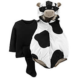 carter's® Little Cow Baby Halloween Costume in Black/White