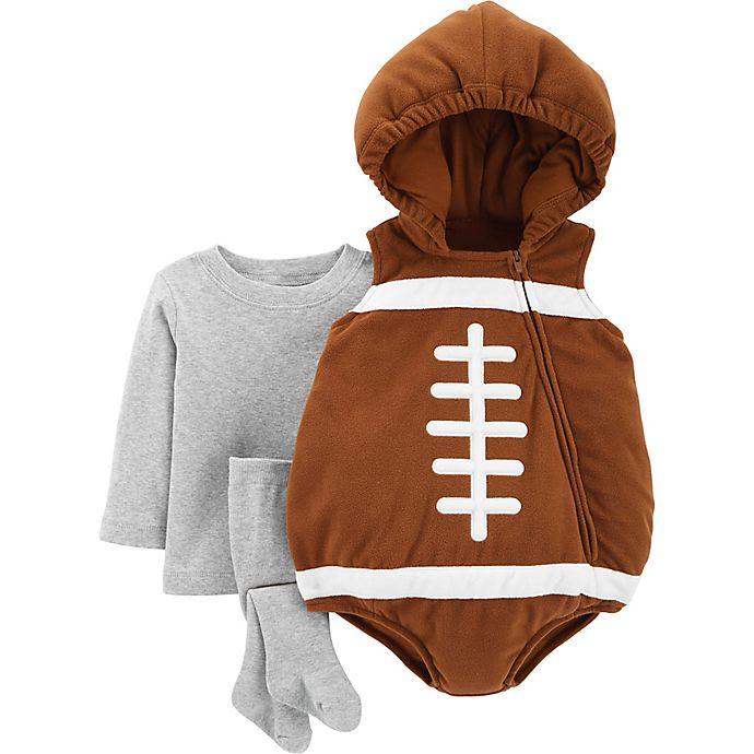 Alternate image 1 for carter's® Little Football Halloween Costume in Brown