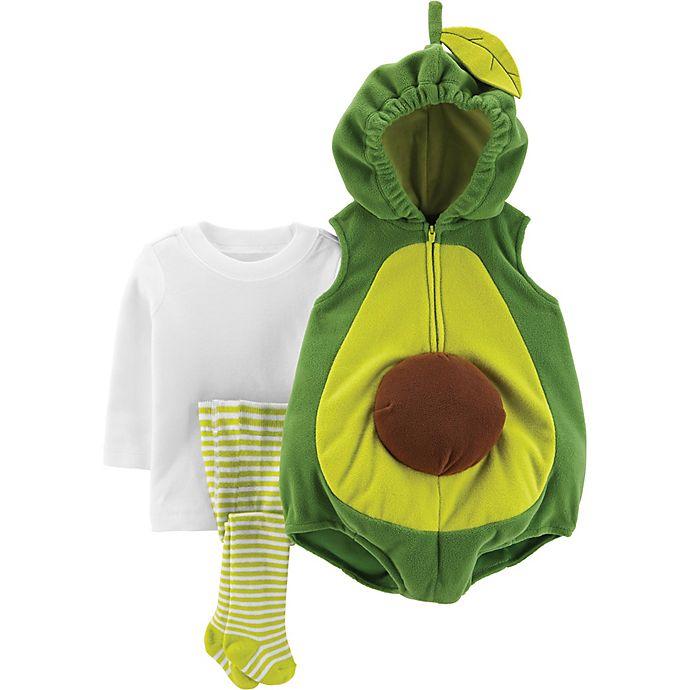Alternate image 1 for carter's® Little Avocado Baby Halloween Costume in Green