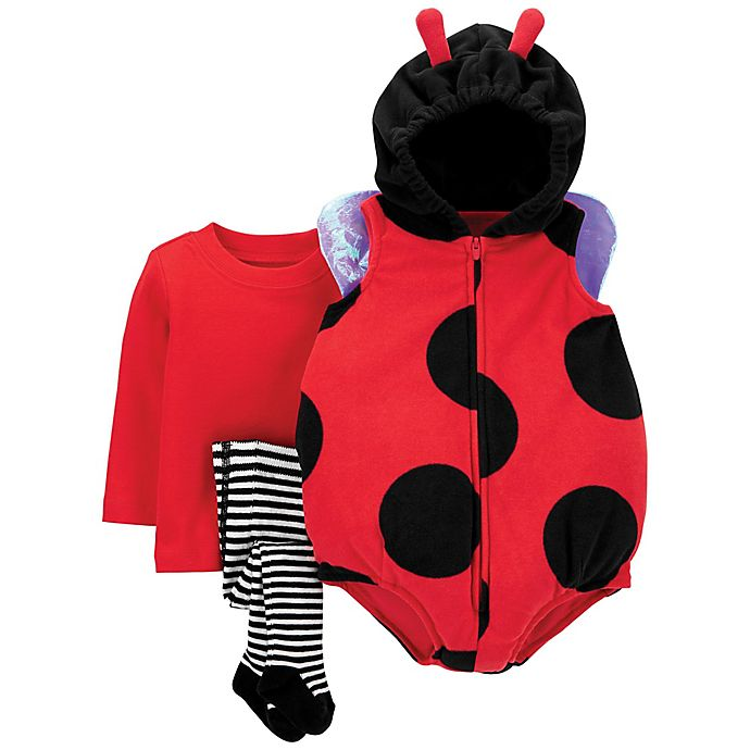Alternate image 1 for carter's® Little Ladybug Baby Halloween Costume in Red