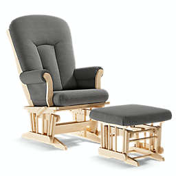 Dutailier® Alice Locking and Reclining Glider with Ottoman