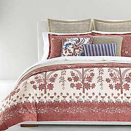 Lauren Ralph Lauren Isla Floral 3-Piece King Comforter Set in Dusty Rose