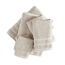 Wakefield Cotton Solid Oyster 6 Pc Towel Set