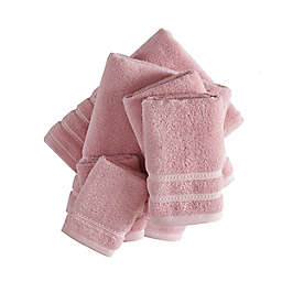Wakefield Cotton Solid Pink 6 Pc Towel Set