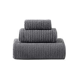 Joy Solid Organic Cotton Flint 3 Pc Towel Set