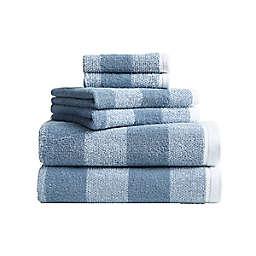 Nautica® Oak Lake  6-Piece Towel Set in Blue/White