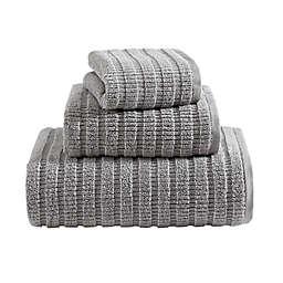 Eddie Bauer® Preston Solid Chrome Quick Dry 3-Piece Towel Set