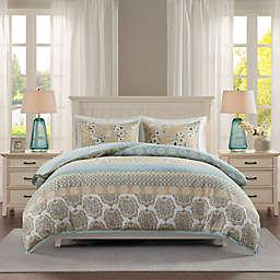 Madison Park® Willa Cotton Printed Duvet Cover Set