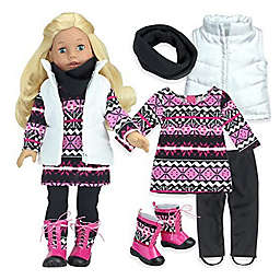 Sophia's by Teamson Kids 18-Inch Doll Dressy Winter Day Outfit