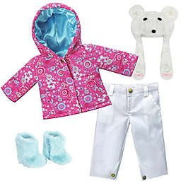 Sophia's by Teamson Kids 18-Inch Doll Winter Snowboard Outfit