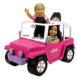 Sophia's by Teamson Kids 18-Inch Doll Beach Cruiser Vehicle in Pink