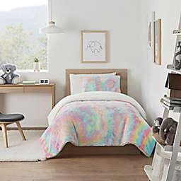 UGG® Kelly Tie-Dye 3-Piece King Comforter Set in Rainbow