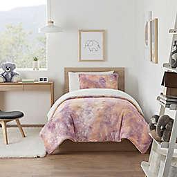 UGG® Kelly Tie-Dye 3-Piece Full/Queen Comforter Set in Sherbet